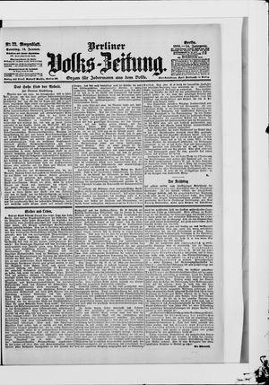 Berliner Volkszeitung vom 14.01.1906