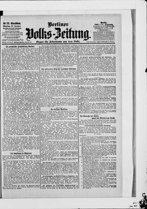 Berliner Volkszeitung vom 15.01.1906