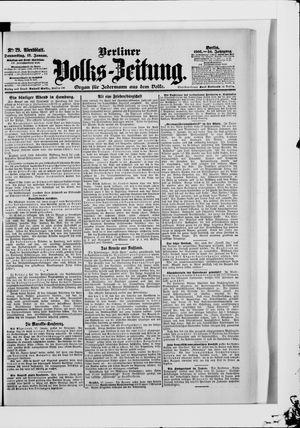 Berliner Volkszeitung vom 18.01.1906