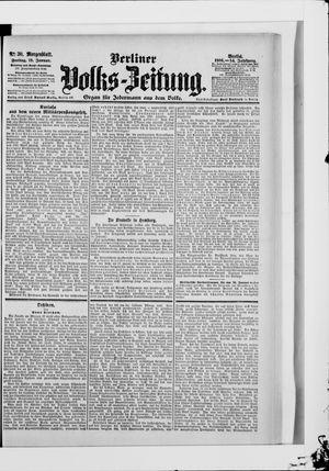 Berliner Volkszeitung vom 19.01.1906