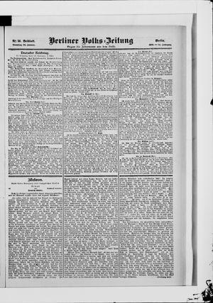 Berliner Volkszeitung vom 23.01.1906