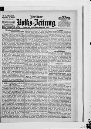 Berliner Volkszeitung vom 25.01.1906