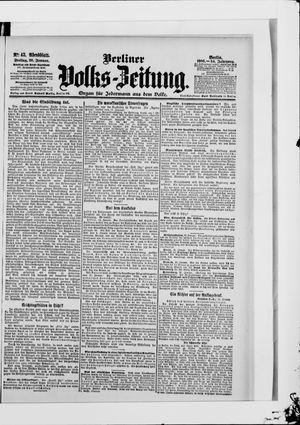 Berliner Volkszeitung vom 26.01.1906