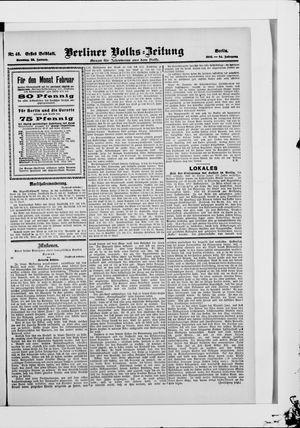Berliner Volkszeitung vom 28.01.1906