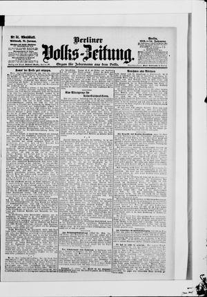 Berliner Volkszeitung vom 31.01.1906