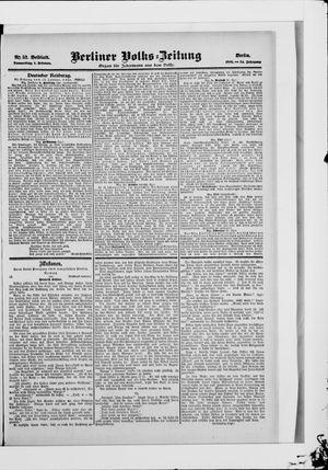 Berliner Volkszeitung on Feb 1, 1906