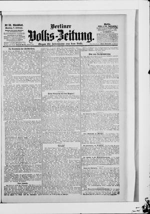 Berliner Volkszeitung vom 05.02.1906