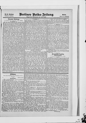 Berliner Volkszeitung vom 06.02.1906
