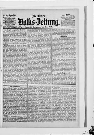 Berliner Volkszeitung on Feb 8, 1906