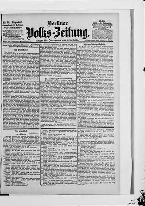 Berliner Volkszeitung vom 10.02.1906