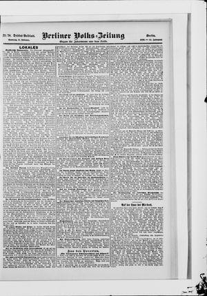 Berliner Volkszeitung vom 11.02.1906