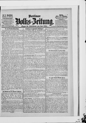 Berliner Volkszeitung vom 12.02.1906