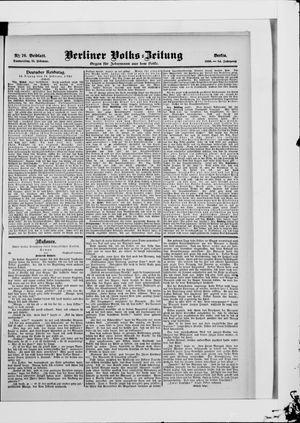 Berliner Volkszeitung vom 15.02.1906
