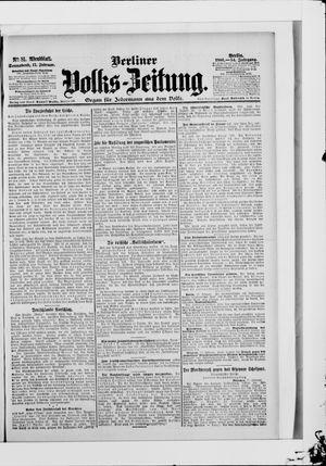 Berliner Volkszeitung vom 17.02.1906