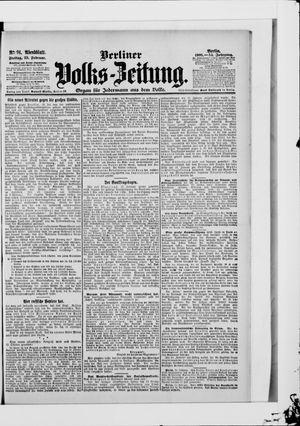Berliner Volkszeitung vom 23.02.1906