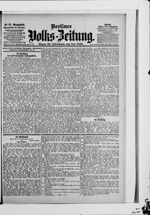 Berliner Volkszeitung vom 24.02.1906