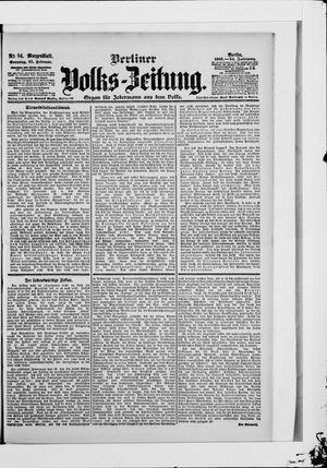 Berliner Volkszeitung vom 25.02.1906