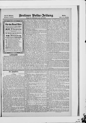 Berliner Volkszeitung vom 28.02.1906