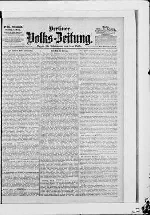 Berliner Volkszeitung vom 05.03.1906