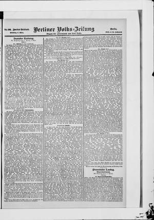 Berliner Volkszeitung vom 06.03.1906