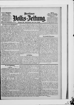 Berliner Volkszeitung vom 07.03.1906