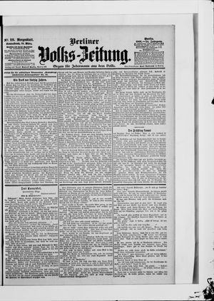 Berliner Volkszeitung vom 10.03.1906