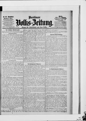 Berliner Volkszeitung vom 12.03.1906