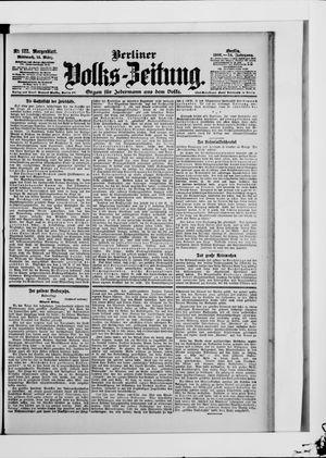 Berliner Volkszeitung vom 14.03.1906