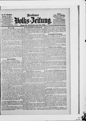 Berliner Volkszeitung vom 19.03.1906