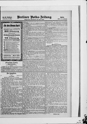 Berliner Volkszeitung vom 22.03.1906
