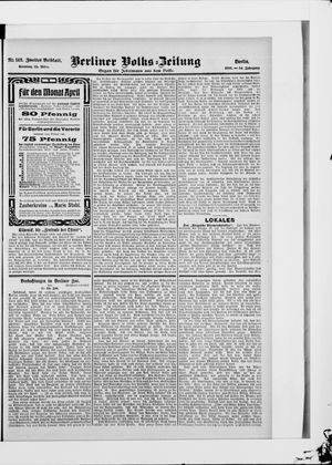 Berliner Volkszeitung vom 25.03.1906