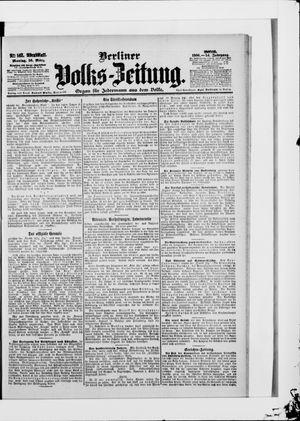 Berliner Volkszeitung on Mar 26, 1906