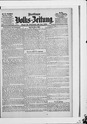 Berliner Volkszeitung vom 27.03.1906