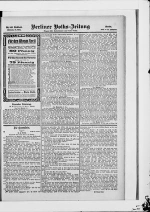 Berliner Volkszeitung vom 28.03.1906