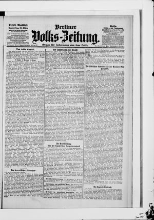 Berliner Volkszeitung vom 29.03.1906