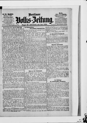 Berliner Volkszeitung vom 02.04.1906