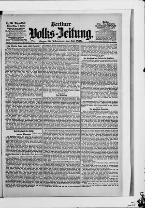 Berliner Volkszeitung vom 05.04.1906