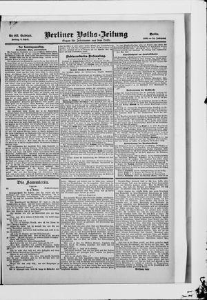 Berliner Volkszeitung vom 06.04.1906