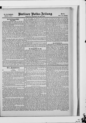 Berliner Volkszeitung vom 11.04.1906