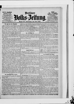 Berliner Volkszeitung vom 12.04.1906