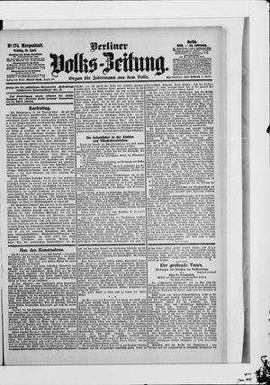 Berliner Volkszeitung vom 13.04.1906