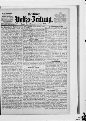 Berliner Volkszeitung vom 18.04.1906
