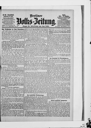 Berliner Volkszeitung vom 19.04.1906