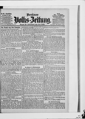 Berliner Volkszeitung vom 21.04.1906
