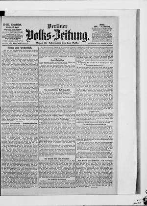 Berliner Volkszeitung vom 23.04.1906