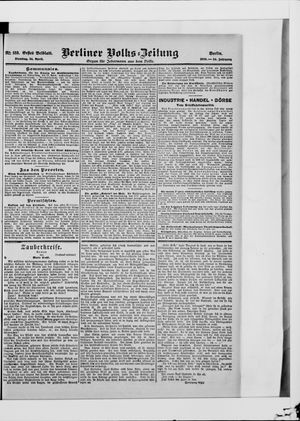 Berliner Volkszeitung vom 24.04.1906