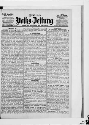 Berliner Volkszeitung on Apr 27, 1906