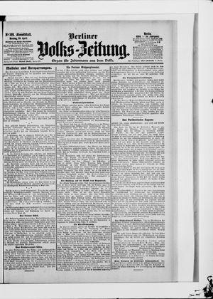 Berliner Volkszeitung vom 30.04.1906