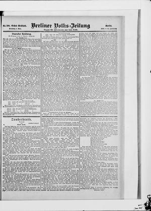 Berliner Volkszeitung vom 01.05.1906
