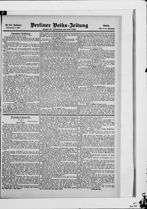 Berliner Volkszeitung vom 03.05.1906